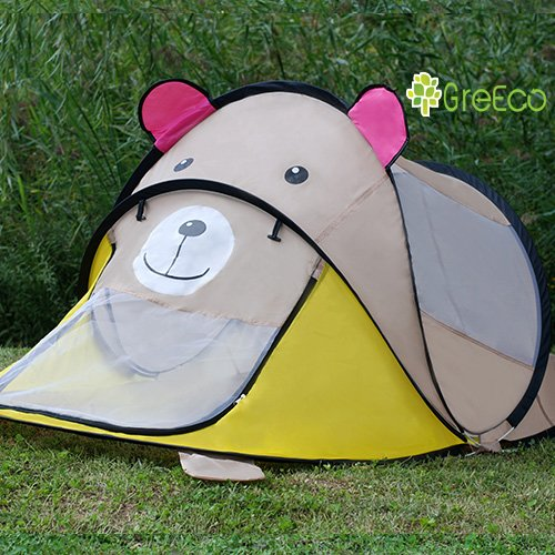 GreEco-Extra-Large-Childrens-Pop-Up-Tent-Instant- & GreEco Extra Large Childrens Pop Up Tent Instant Portable Travel ...
