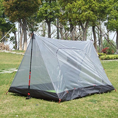 Hikingworld-Lightweight-C&ing-2-Person-Anti-Mosquito-Net- & Hikingworld Lightweight Camping 2 Person Anti-Mosquito Net /Tent ...