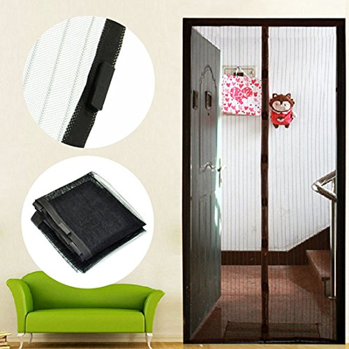 Hilinker-Magnetic-Screen-Door-Keeps-Bugs-OUT-Lets- & Hilinker Magnetic Screen Door Keeps Bugs OUT Lets Fresh Air In No ...