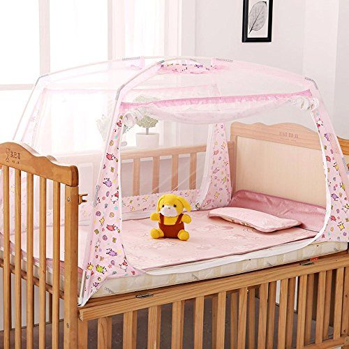 LOHOME-Zippered-Baby-Kid-Children-Nursery-Bed-Crib- : baby tent - memphite.com