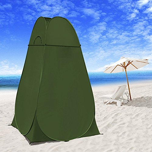 Leapair Pop Up Tent Portable Camping Beach Toilet Shower