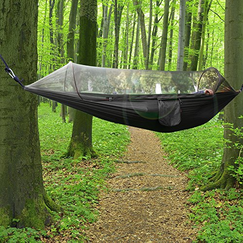 Medium image of outdoor camping hammock bukm mosquito hammock travel bed