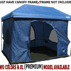 Standing-Room-100-Family-Cabin-C&ing-Tent-Blue- & Family Tents - Buy Cheap Family Tents From Top Brands at ...