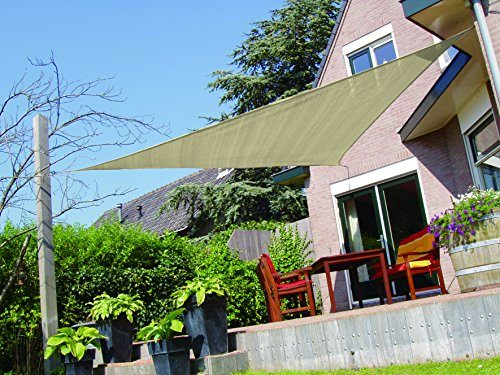 SueSport-16-Oversized-Durable-Sun-Shade-Sail-Shade- & SueSport 16u2032 Oversized Durable Sun Shade Sail Shade Canopy UV ...