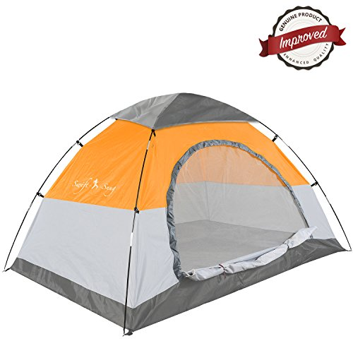 Swift n snug 2 person camping tent best small for Small 3 room tent