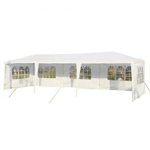 Tangkula-10x30-Outdoor-Party-BBQ-Tent-Outdoor-Canopy-White-0
