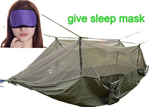Warmword-C&ing-Hammock-2-Person-with-Mosquito-Net-  sc 1 st  Discount Tents Nova & Warmword Camping Hammock 2 Person with Mosquito Net Tent Portable ...