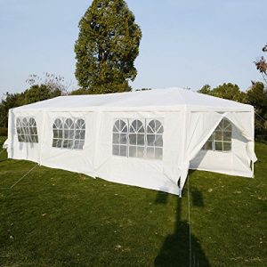 Wedding-Party-Tent-Outdoor-Camping-10x30-Easy-Set-Gazebo-BBQ-Pavilion-Canopy-Cater-Events-0-0