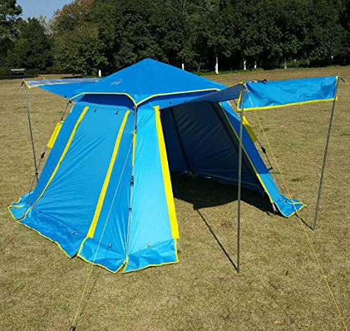 Funs-Instant-Setup-3-4-Person-3-Season- & Funs Instant Setup (3-4 Person) 3 Season Water Resistant Canopy ...