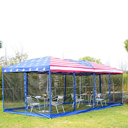 20 X 20 Ez Up Tent Amp 10 X 20 Palm Springs Pop Up White