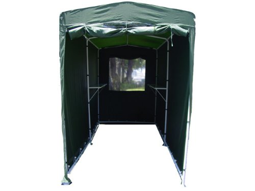 Portable Motorcycle Garage : Portable storage tent garden shed motorcycle cover