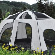 Black-Pine-30048-Pine-Cabin-8-Person-2-Room-Camping-Backpacking-Tent-0-0