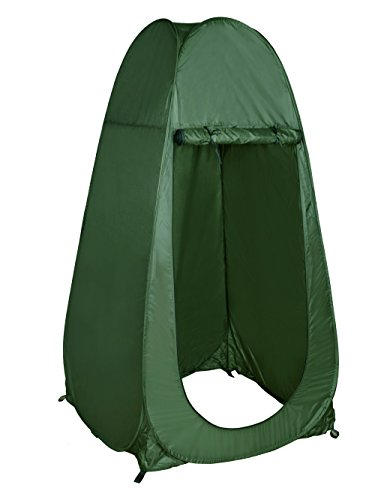 Portable Shower Tent : Tms portable outdoor green pop up tent camping shower