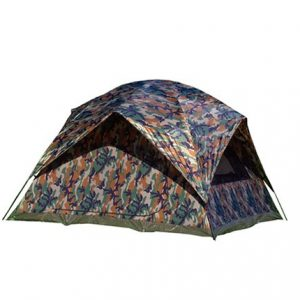 Texsport-5-Person-Headquarters-Camo-Square-Dome-Family-Camping-Backpacking-Tent-0