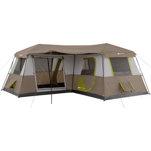 12 Person Family Camping Outdoor Instant Cabin Tent W