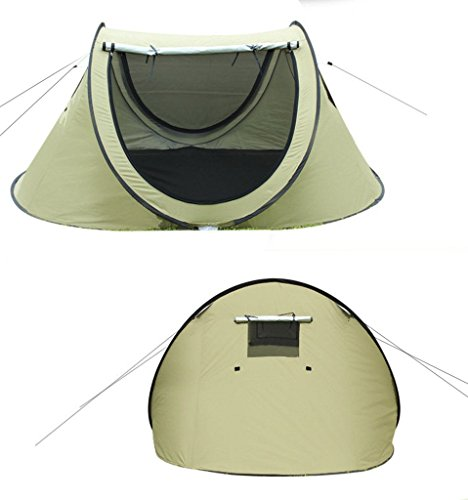 3-4-person-Large-Automatic-Pop-Up-Family-  sc 1 st  Discount Tents Nova & 3-4 person Large Automatic Pop Up Family Camping Tent Easy Fold ...