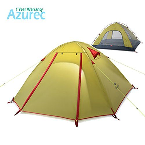 Azurec-2-3-4-Person-3-Season-Double-  sc 1 st  Discount Tents Nova & Azurec 2-3-4 Person 3 Season Double Doors Lightweight Waterproof ...