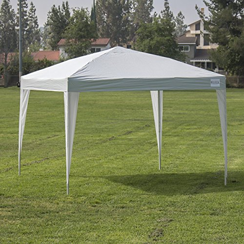 Bellezza 169 Easy Pop Up Canopy Tent 10 X 10 Feet Instant