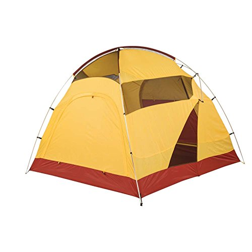 Big Agnes Big House 6 Person Tent (Yellow Red – 6 Person)  188b7d72c