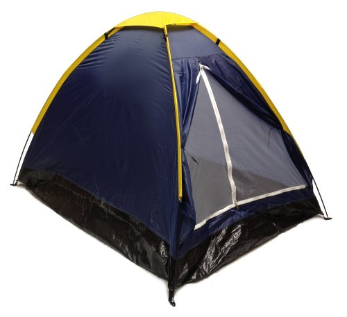 Blue Dome Camping Tent 7x5 2 Person Two Man Navy