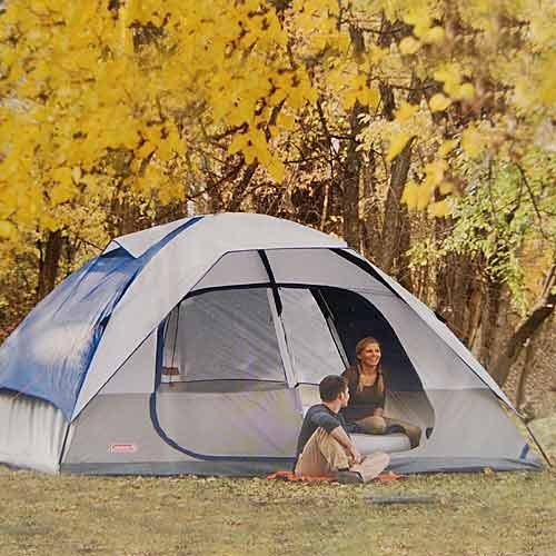 Coleman-2000006233-Glacier-Creek-14-x-10-8- & Coleman 2000006233 Glacier Creek 14u0027 x 10u0027 8 Person 2 Room Camping ...