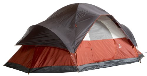 Coleman 8-Person Red Canyon Tent,204″ L x 120″ W x 72″ H