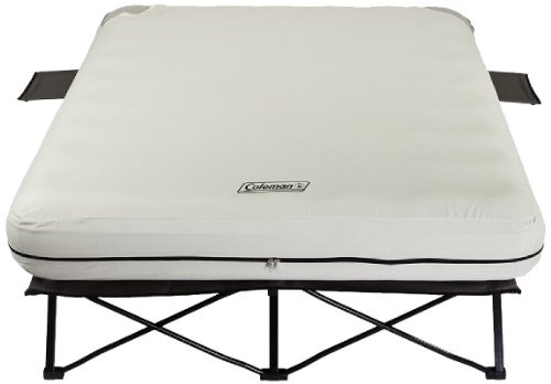Coleman-Queen-Airbed-Cot-with-Side-Tables-and-4D-Battery-Pump-0