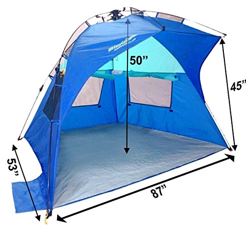 Easygo Shelter Instant Easy Up Beach Umbrella Tent