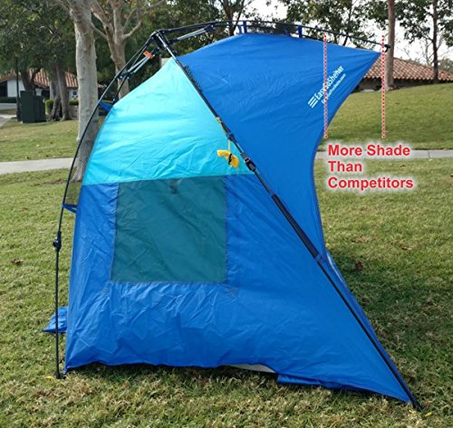 Easygo Shelter Instant Easy Up Beach Umbrella Tent Sun Sport