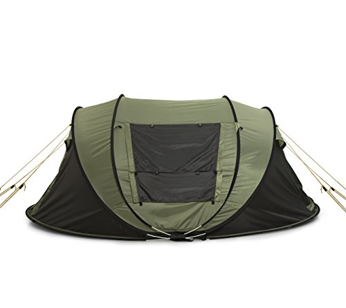 FiveJoy Instant 4-Person Pop Up Tent – Set Up in Lightning Speed ... 7cd9da67721e