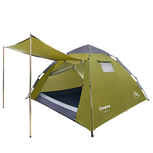 Kingcamp 174 Monza 3 Instant Camping Tent Waterproof Double