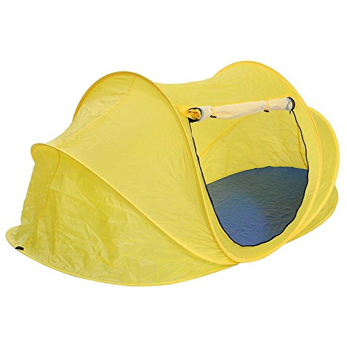 MegaBrand-1-2-Person-Portable-Camping-Pop-Up-Beach-Tent-Yellow-0