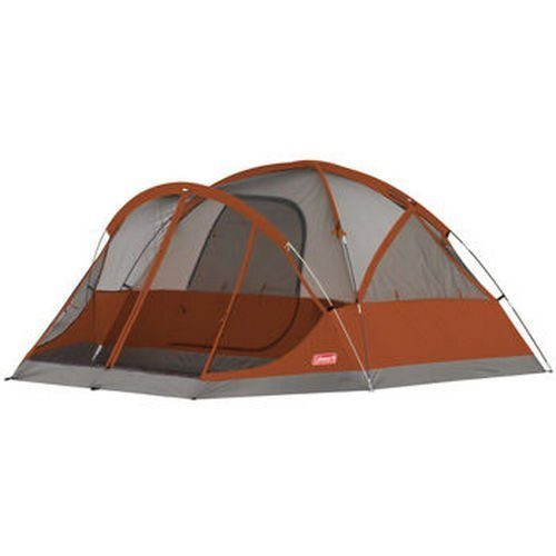 New Coleman Evanston 4 Person Family Camping Tent W