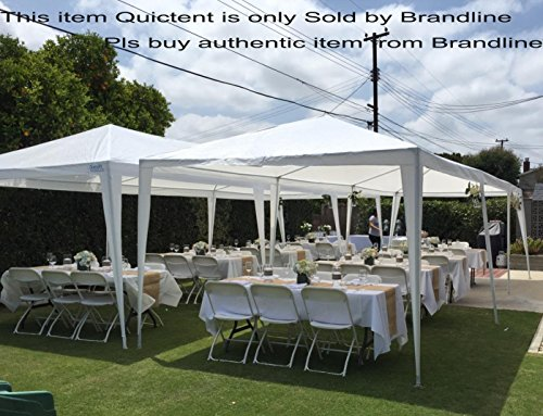 quictent 10 x 30 high grade white gazebo wedding party tent canopy with sidewalls discount. Black Bedroom Furniture Sets. Home Design Ideas