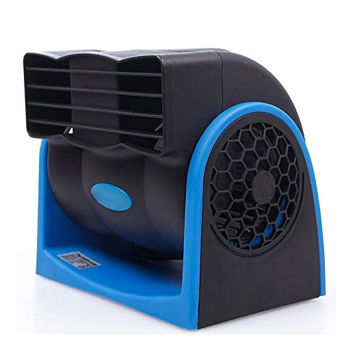 Sinedy 12v Car Cooling Air Fan Speed Adjustable Silent