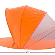 Snoozy-Toddler-Easy-Pop-Up-Shade-Tent-With-Slip-on-Cover-and-Handles-Orange-42×20-0-0