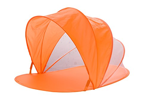 Snoozy-Toddler-Easy-Pop-Up-Shade-Tent-With-Slip-on-Cover-and-Handles-Orange-42×20-0