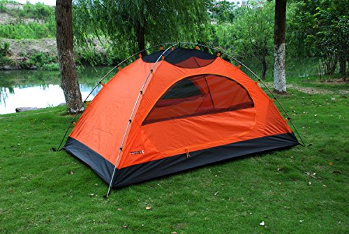 TOWK-Portable-Waterproof-2-Person-Double-Skin-Family- & TOWK Portable Waterproof 2-Person Double-Skin Family Camping Tent ...