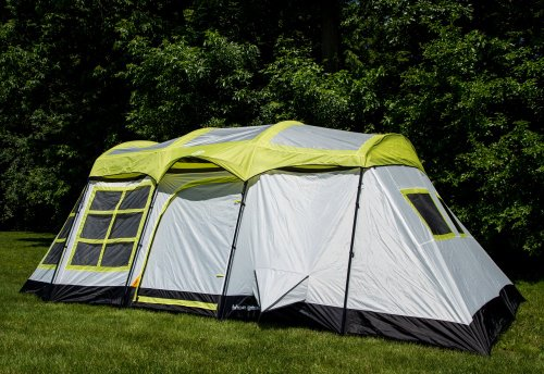 Tahoe-Gear-Glacier-14-Person-3-Season-Family- & Tahoe Gear Glacier 14 Person 3-Season Family Cabin Camping Tent ...