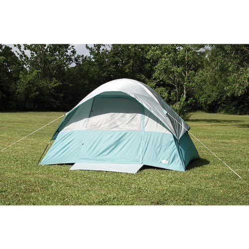 Texsport-Cool-Canyon-4-Person-Square-Dome-Tent-  sc 1 st  Discount Tents Nova & Texsport Cool Canyon 4 Person Square Dome Tent (Green/Gray 8-Feet X ...