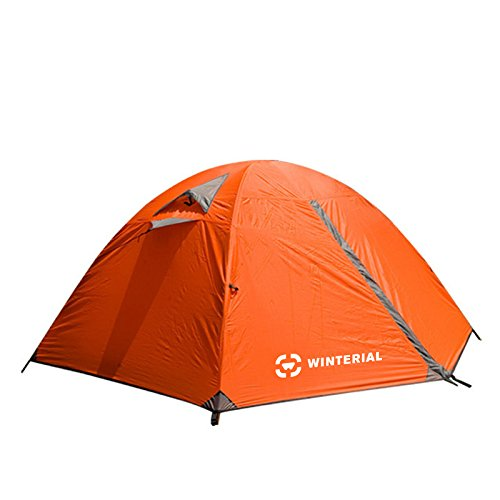 new product 86836 ced5e Winterial 2 Person Tent / Easy Setup Lightweight Camping and Backpacking 3  Season Tent / Compact / Tents For Camping 2 Person
