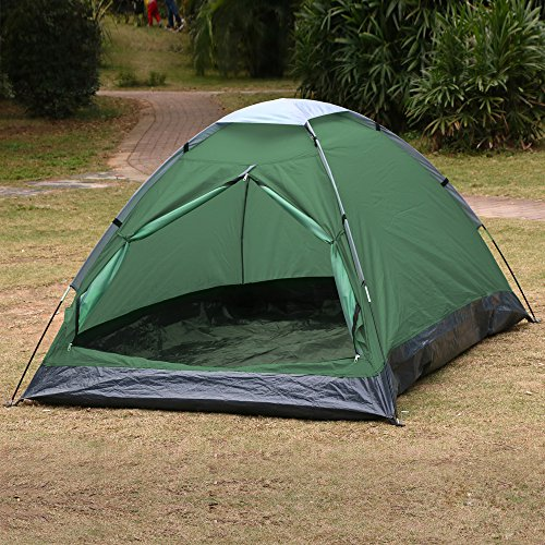 Yaheetech-Waterproof-Portable-1-2-Person-Camping-Family-Tent-Army-green-0