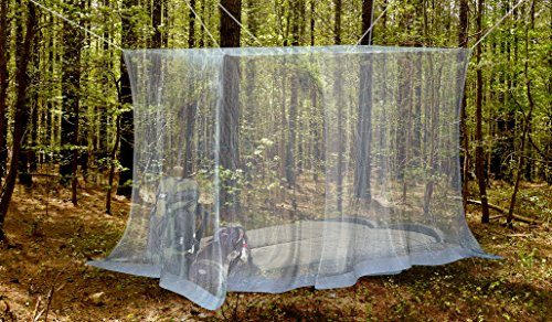 1 Outdoor Mosquito Net By Naturo The Largest Double Bed