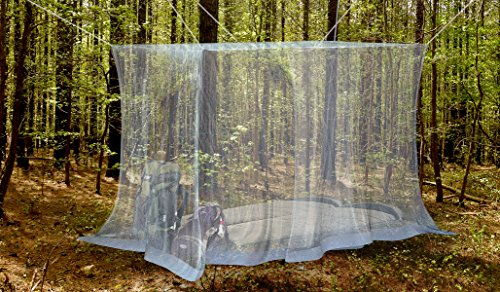 1-Outdoor-Mosquito-Net-By-NATURO-The-Largest-Double-Bed-Mosquito-Net-Canopy-Insect-Malaria-Zika-Repellent-Free-Bonuses-2-Insect-Repellent-Bracelets-A-Full-Hanging-Kit-Carry-Bag-Free-E-Book-0