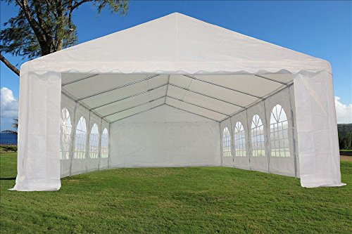 32 X16 Heavy Duty Wedding Party Tent Canopy Carport White