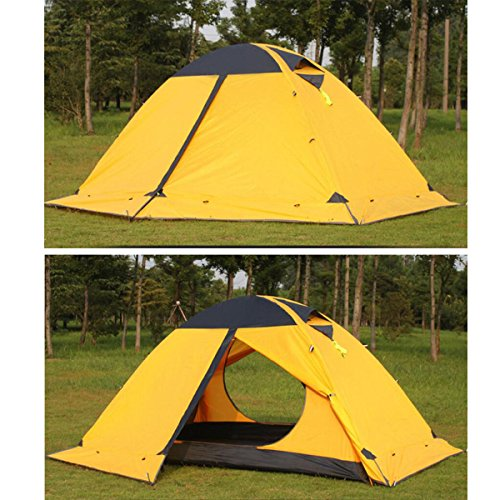Azurec-2-Person-4-Season-Lightweight-Waterproof-Double- : 2 person hiking tent - memphite.com