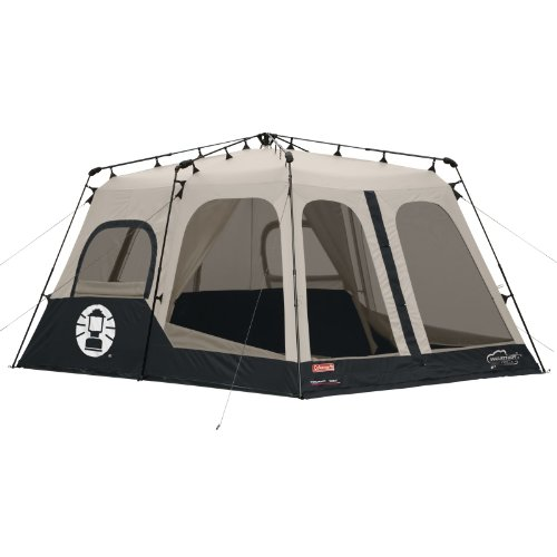 Coleman Instant 8 Person Tent Black 14x10 Feet