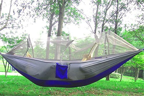 Lightweight Mosquito Net Hammock Double Travel Camping Hanging Bed Tents Useful