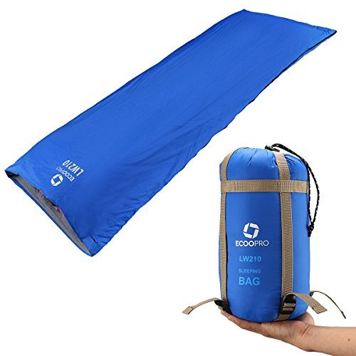 Eoopro Warm Weather Sleeping Bag Outdoor Camping Backng Hiking Fit For Kids S And Spring Summer Fall Lightweight