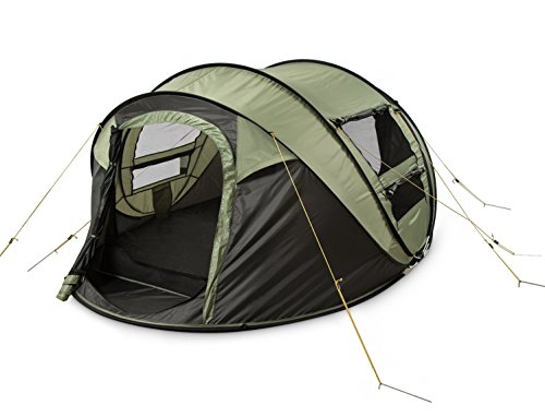 FiveJoy-4-Person-Instant-Pop-Up-Tent-Automatic-  sc 1 st  Discount Tents Nova & FiveJoy Instant 4-Person Pop Up Tent - Set Up in Lightning Speed ...